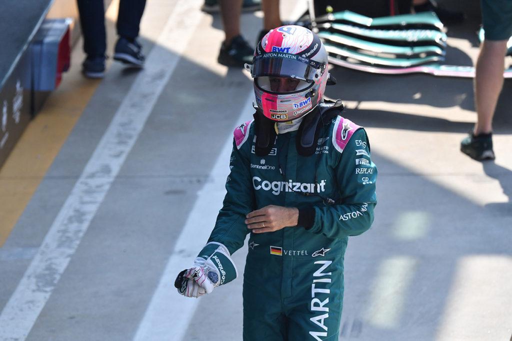 Formel 1 Sebastian Vettel Aston Martin Monza Italien 2021
