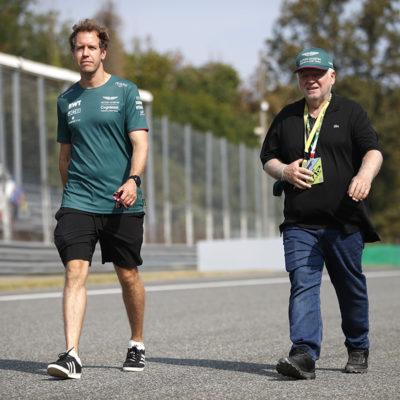 Formel 1 Sebastian Vettel Aston Martin Monza 2021