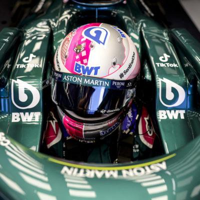 Formel 1 Sebastian Vettel Aston Martin Zandvoort 01