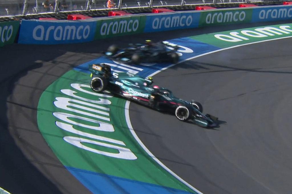 Formel 1 Sebastian Vettel Dreher Zandvoort 2021