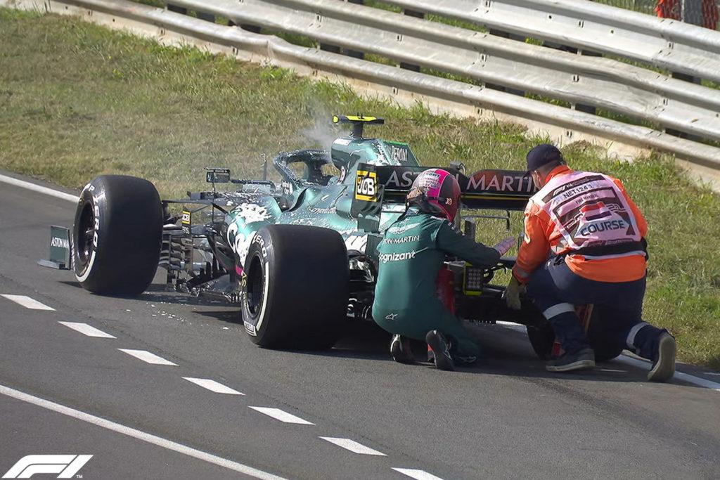 Formel 1 Sebastian Vettel Aston Martin 2021 Zandvoort