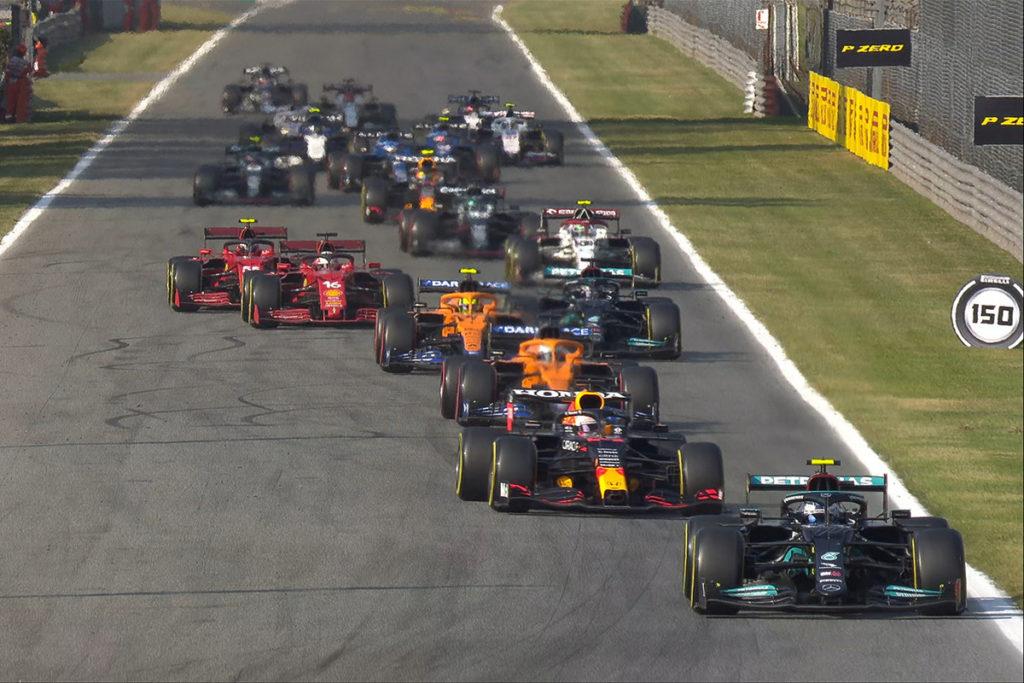 Formel 1 Sprint Re Start Monza 2021 Italien GP
