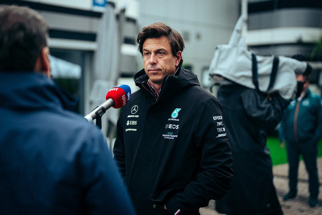Formel 1 Toto Wolff Mercedes Sotschi Russland 2021