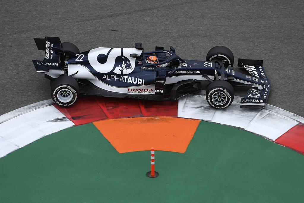Formel 1 Yuki Tsunoda Alpha Tauri 2021