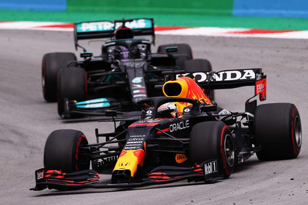 Formel 1 Max Verstappen Red Bull Lewis Hamilton Mercedes 2021