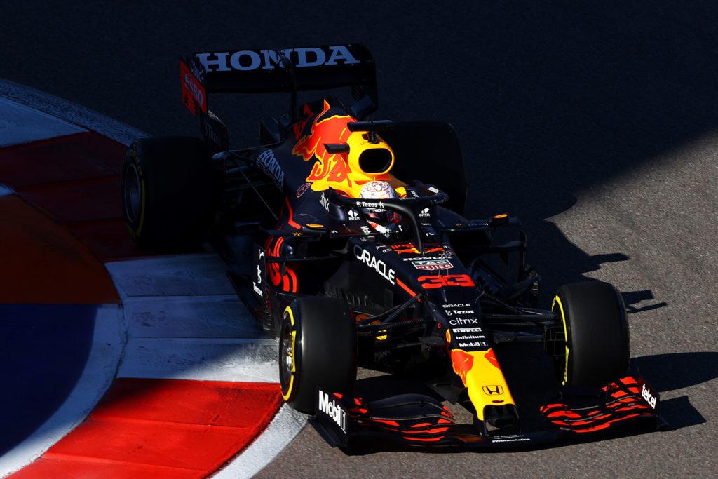 Formel 1 Max Verstappen Red Bull Sotschi 2021