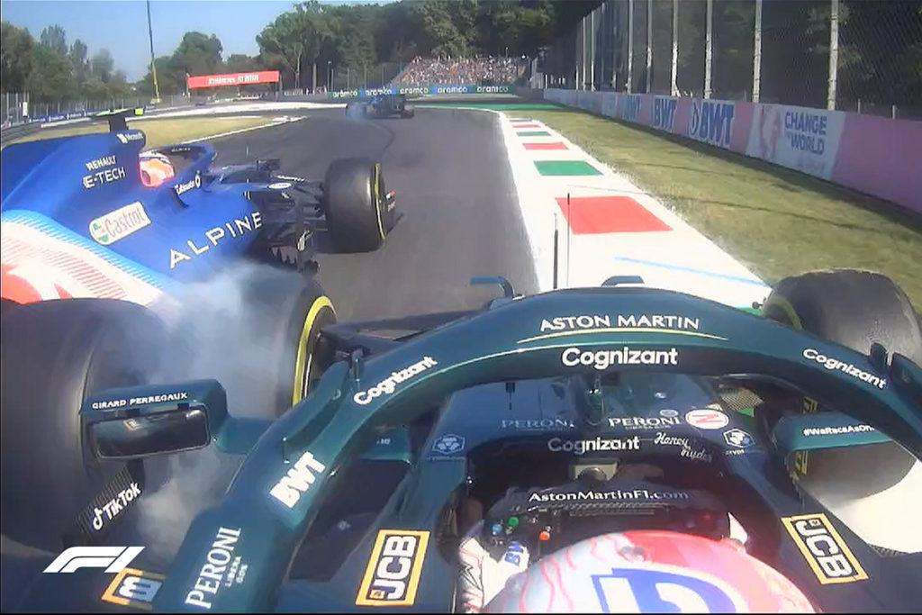 Formel 1 Vettel Ocon Monza Italien 2021