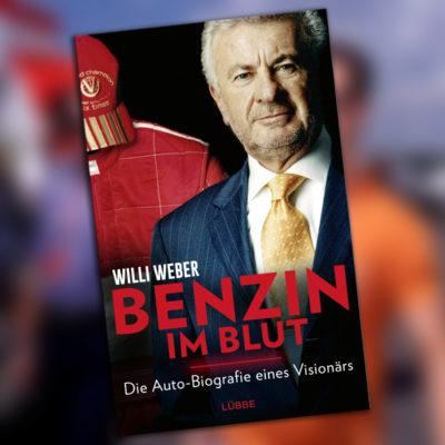 Formel 1 Michael Schumacher Willi Weber Buch Benzin im Blut 2021