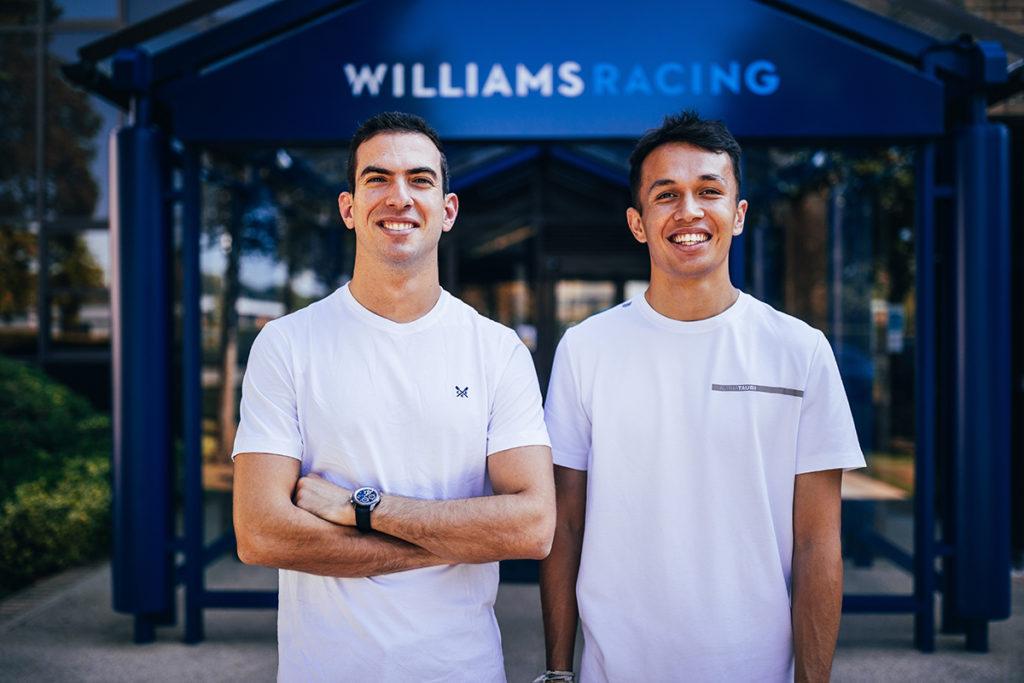Formel 1 Williams Nicholas Latifi und Alex Albon 2022