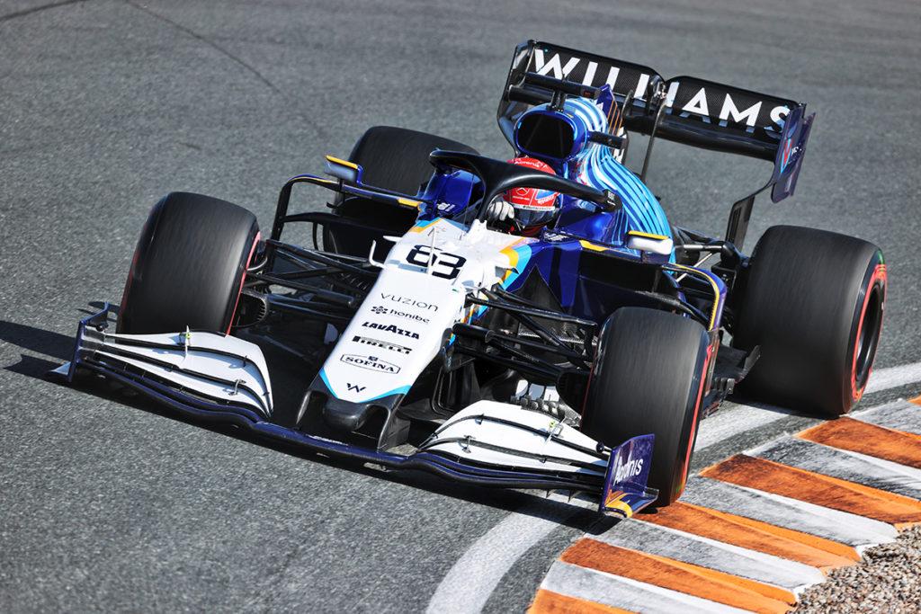 Formel 1 George Russell Williams Zandvoort 2021