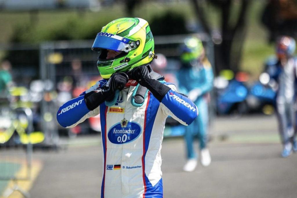 Formel 3 David Schumacher Sotschi 3 2
