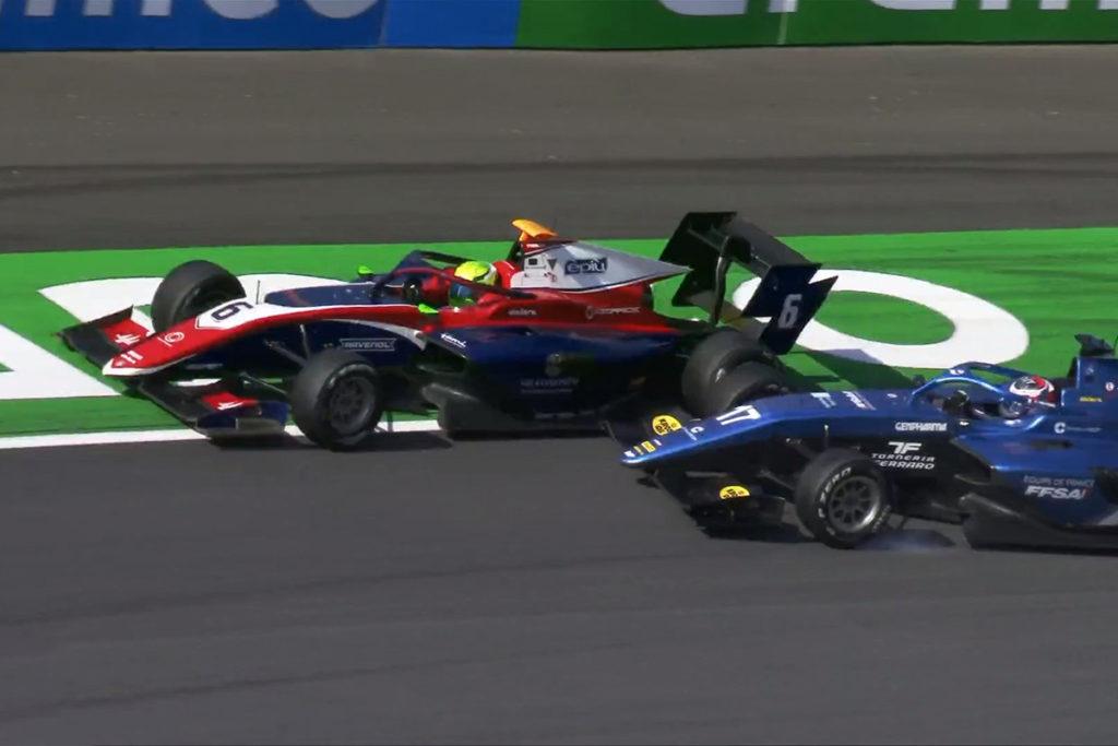Formel 3 David Schumacher Zandvoort Crash 2021