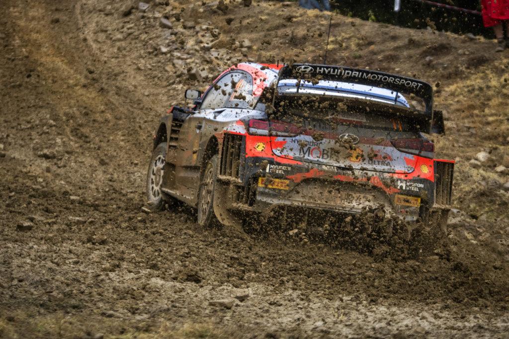 Rallye WRC Thierry Neuville Griechenland 2021 Hyundai