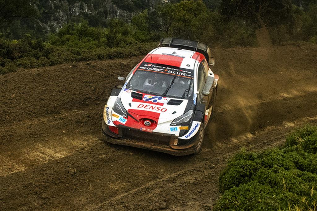 Rallye WRC Sebastien Ogier Toyota Griechenland 2021