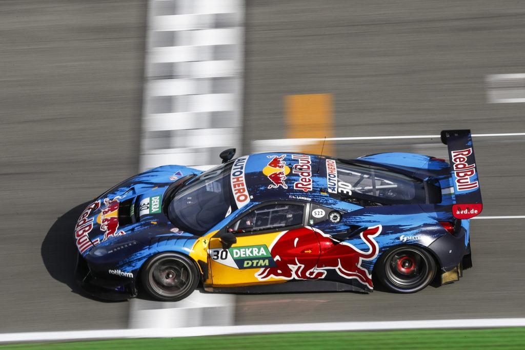 DTM Liam Lawson Ferrari Red Bull Hockenheim 2021
