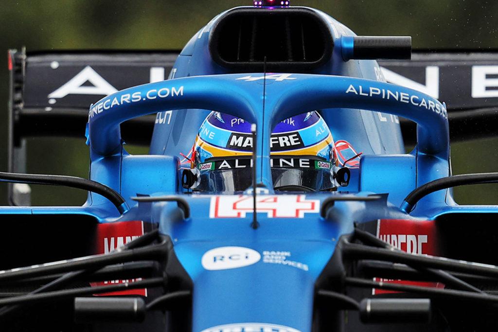Formel 1 Fernando Alonso Alpine