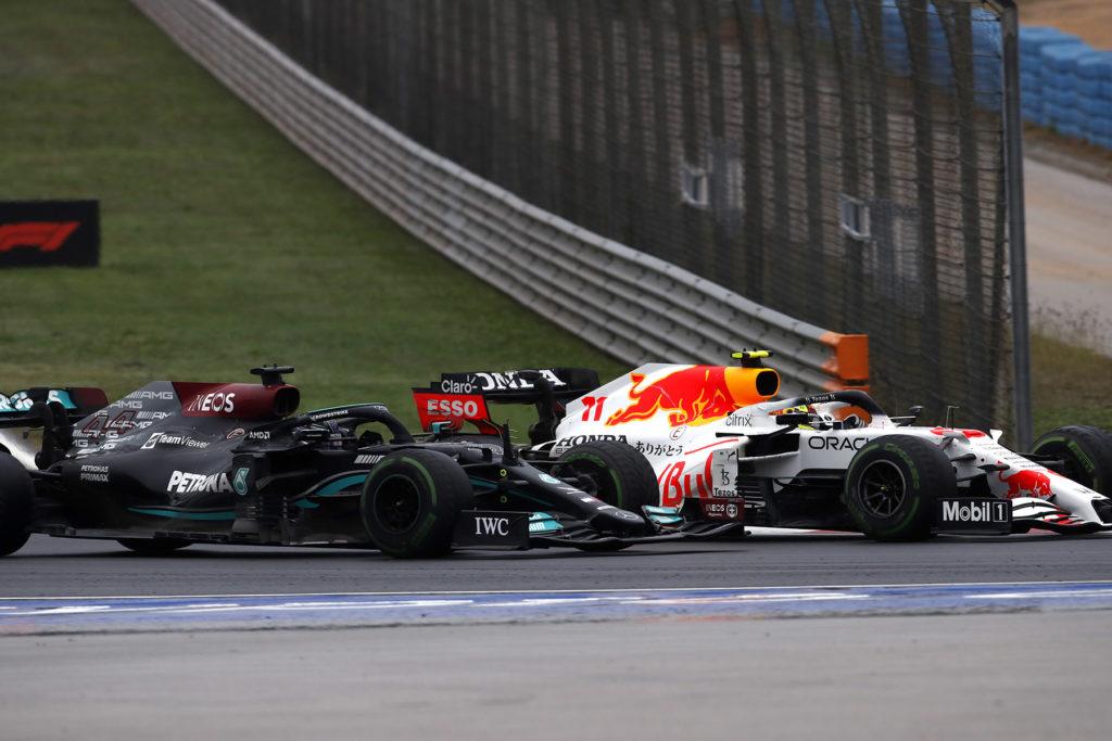 Formel 1 Sergio Perez Duell Lewis Hamilton Red Bull Mercedes 2021 Türkei Grand Prix