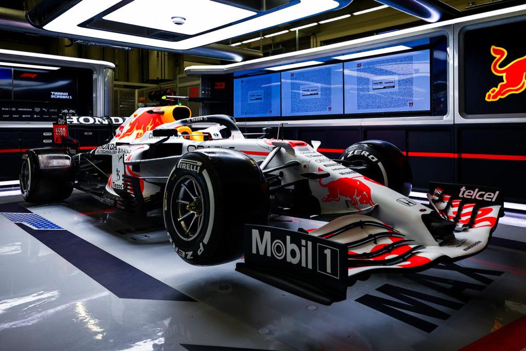 Formel 1 Red Bull spezial Lackierung Türkei Grand Prix 2021