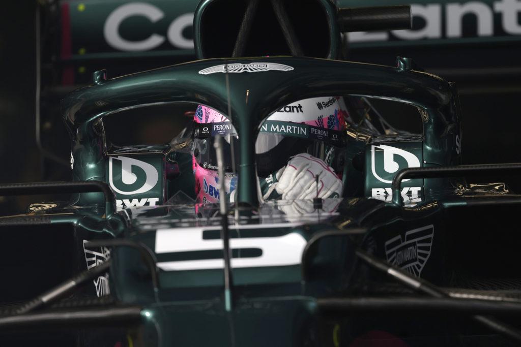 Formel 1 Sebastian Vettel Aston Martin Istanbul Türkei GP 2021