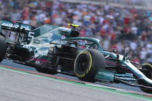 Formel 1 Sebastian Vettel Aston Martin USA GP 2021 Quali
