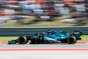 Formel 1 Sebastian Vettel Aston Martin USA GP 2021