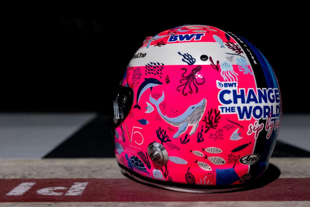 Formel 1 Sebastian Vettel Helm Türkei GP 2021