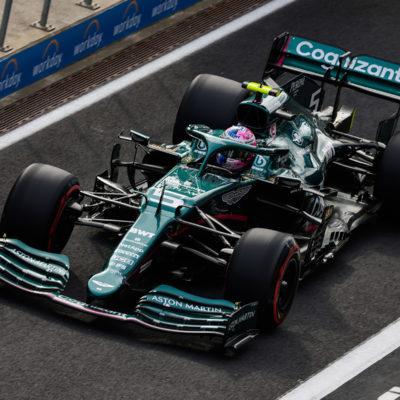 Formel 1 Sebastian Vettel Turkei GP 2021 Quali