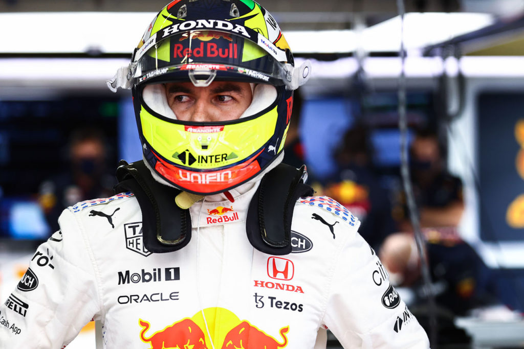 Formel 1 Sergio Perez Red Bull Istanbul Türkei GP 2021