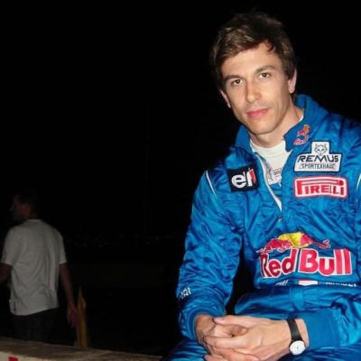 Formel 1 Toto Wolff in Red Bull Kleidung