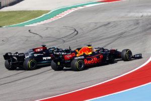 Formel 1 Lewis Hamilton Mercedes Max Verstappen Red Bull USA GP 2021