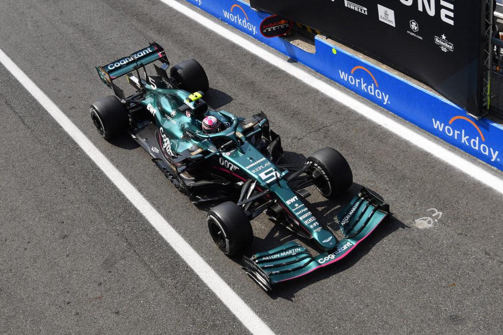 Formel 1 Sebastian Vettel Aston Martin 2021 Turkish GP