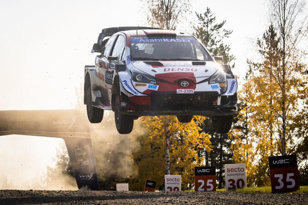 WRC Toyota Elfyn Evans Rallye Finnland 2021