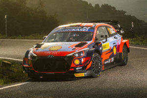 WRC Rallye Spanien Neuville Hyundai 2021