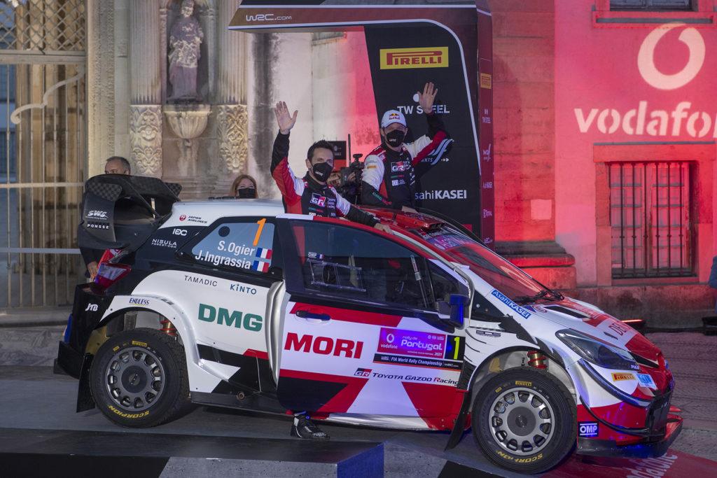 WRC Rallye WM Sebastien Ogier Toyota 2021